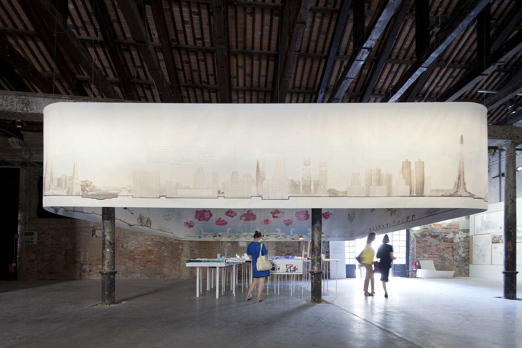 exhibition at the 13 th international architecture biennale in venice