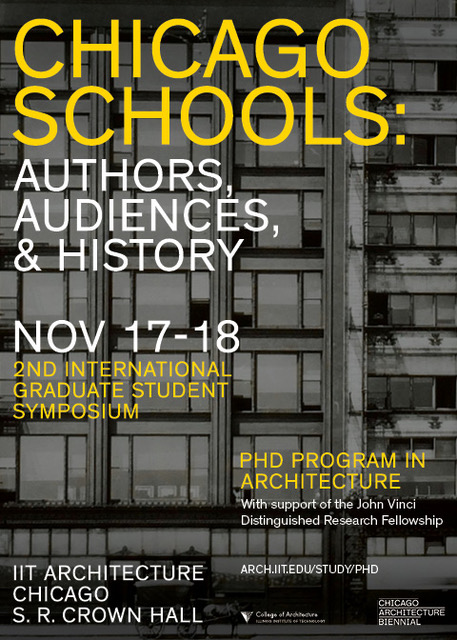 Alexander eisenschmidt diplch phd visionary cities keynote architecture of an accelerated metropolis for the conference chicago schools authors audiences histories at iits crown hall chicago fandeluxe Gallery